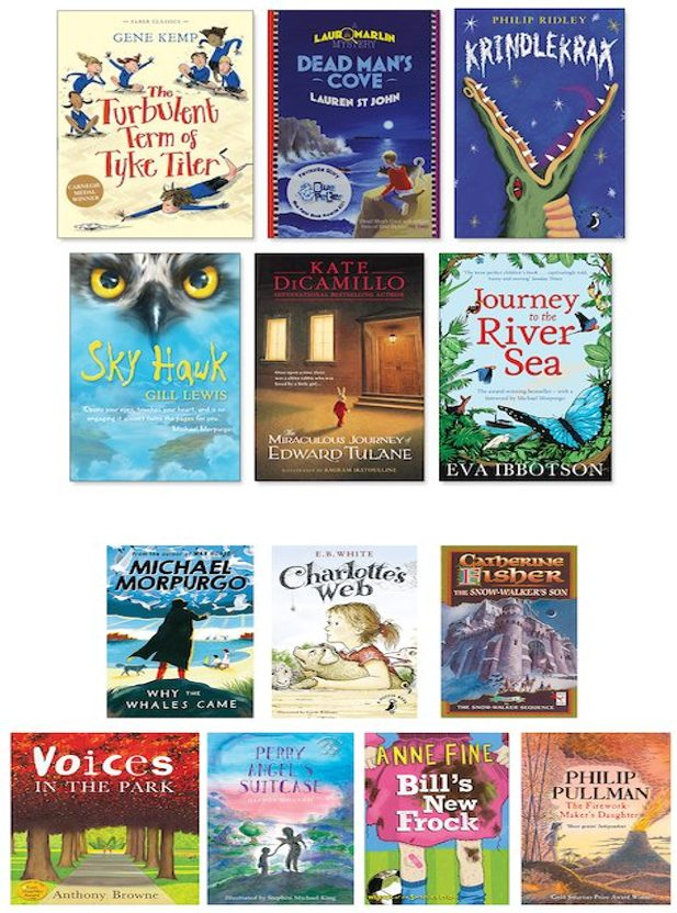 Image result for recommended reads year 4
